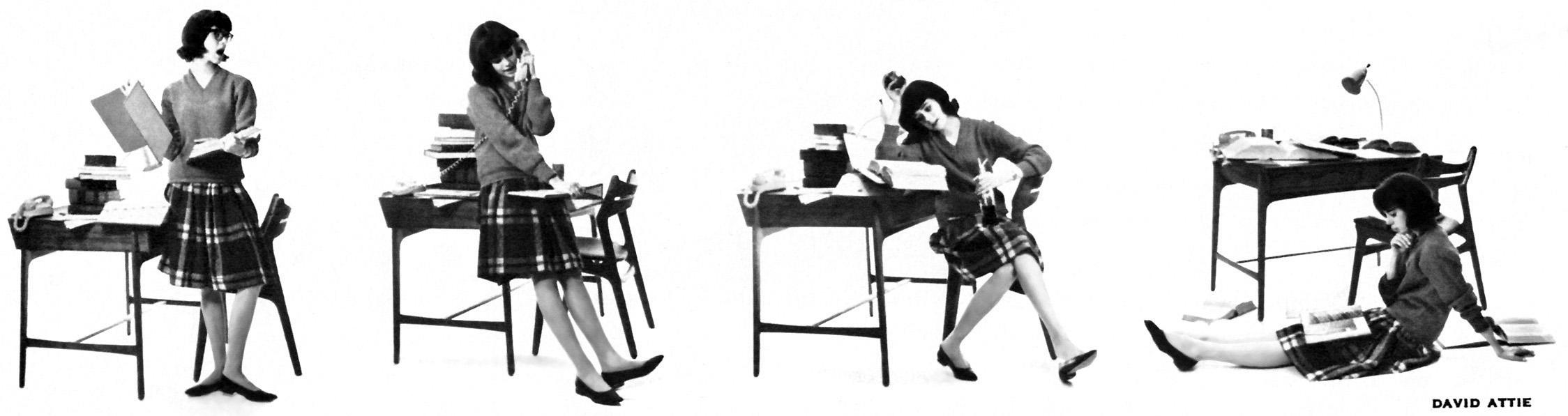 SEVENTEEN August 1962 Fashion Magazine GIANT FASHION and HAIRDO ISSUE